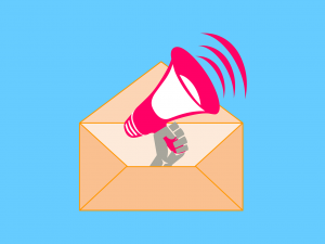 Email Newsletter megaphone guide